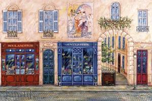 Blue Paris by Vessela G.