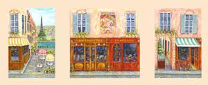 Paris Triptych A by Vessela G.