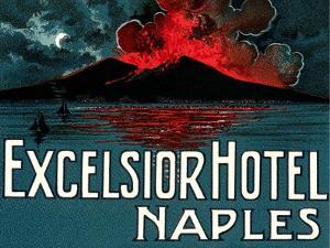Vesuvius, Excelsior Hotel, Naples