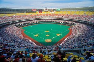 Veteran's Stadium during Major League Baseball game between Phillies and Houston Astros, Philade...