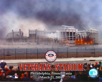 Veterans Stadium - Implosion #2