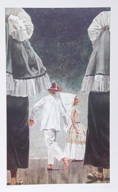 Wedding in De Juantapec by Vic Herman