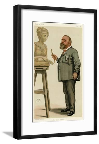 Vice-Admiral Gleichen, VF--Framed Giclee Print