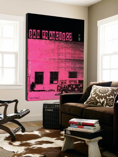 Vice City (San Francisco, Pink)-Pascal Normand-Loft Art