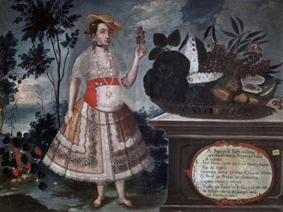 Yapanga Woman from Quito Dressed for Public Life, 1783