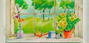 Springtime Vista by Vicente Bueno