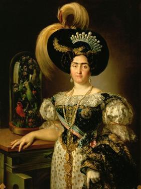 Infanta Maria Francisca of Portugal, 1820 by Vicente López Portaña