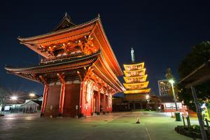Asakusa Sensoji Temple in Tokyo Japan by vichie81