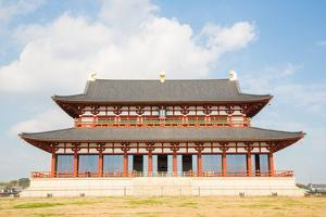 Daigokuden Hall of Heijo Palace in Nara, Japan - A UNESCO World Heritage Site by vichie81