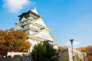 Osaka Castle Autumn in Kansai Japan by vichie81