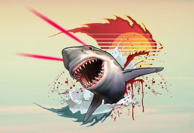 Vicious Laser Shark