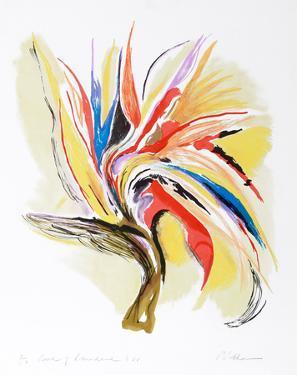 Bird of Paradise II by Vick Vibha