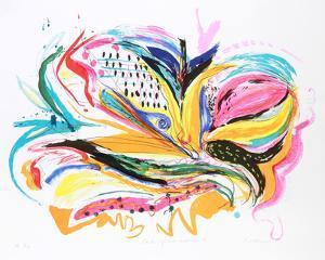 Bird of Paradise IV by Vick Vibha