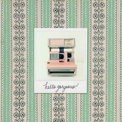 Hello Gorgeous Polaroid