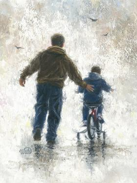 First Bike Ride by Vickie Wade