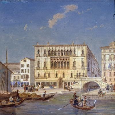 Palazzo Bernardo, 19th Century