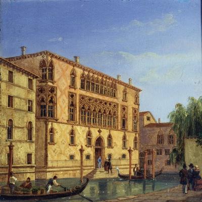 Palazzo Giovanelli, 19th Century