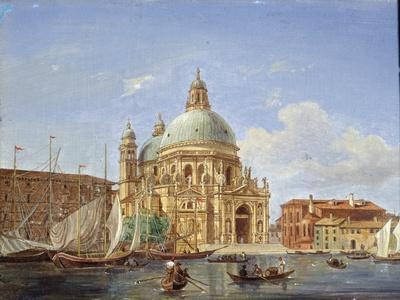 The Santa Maria Della Salute Church, 19th Century