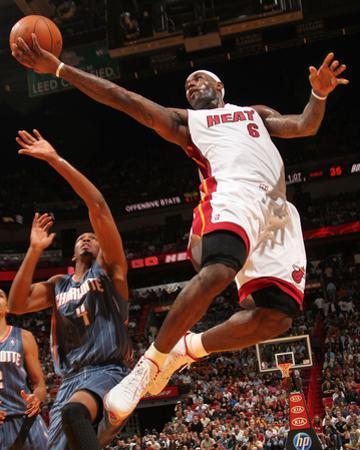 Charlotte Bobcats v Miami Heat: LeBron James