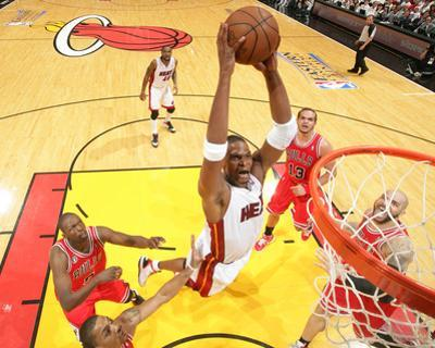 Chicago Bulls v Miami Heat - Game Three, Miami, FL - MAY 22: Chris Bosh