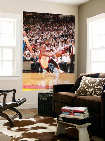 Dallas Mavericks v Miami Heat - Game Six, Miami, FL - June 12: Dwyane Wade and Jason Kidd