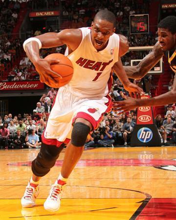 Indiana Pacers v Miami Heat: Chris Bosh