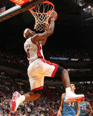 Washington Wizards v Miami Heat: LeBron James