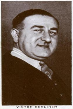 Victor Berliner, Boxing Promoter and Manager, 1938