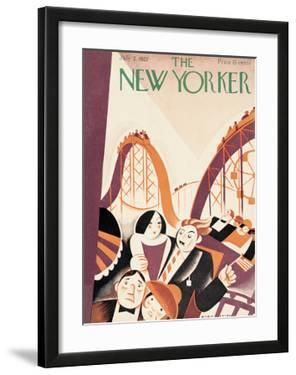 The New Yorker Cover - July 2, 1927 by Victor Bobritsky