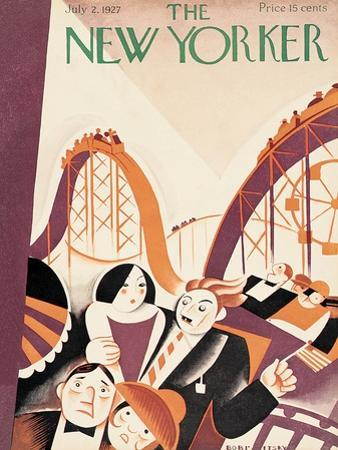 The New Yorker Cover - July 2, 1927