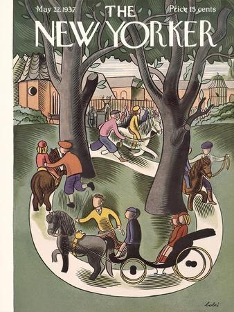 The New Yorker Cover - May 22, 1937