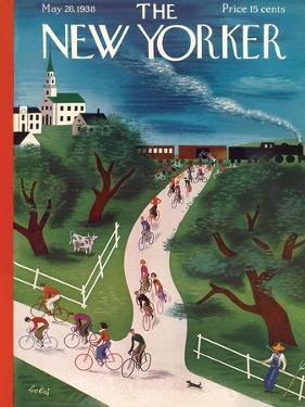 The New Yorker Cover - May 28, 1938 by Victor Bobritsky