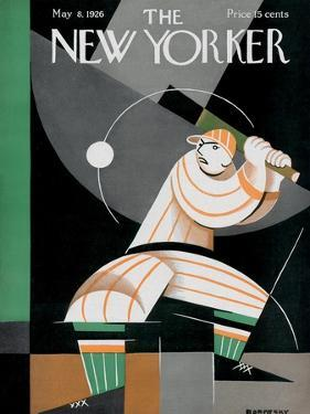 The New Yorker Cover - May 8, 1926 by Victor Bobritsky