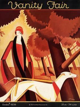 Vanity Fair Cover - October 1926 by Victor Bobritsky