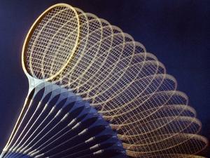 Badminton Racket by Victor De Schwanberg