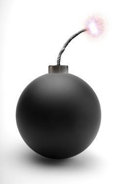 Bomb, Artwork by Victor De Schwanberg