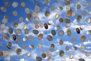 Money Shower by Victor De Schwanberg