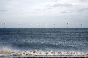Offshore Wind Farm by Victor De Schwanberg