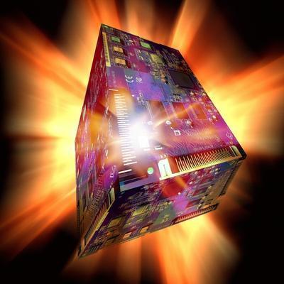 Quantum Computing, Conceptual Image