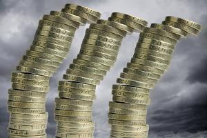 Unstable Economy, Conceptual Image by Victor De Schwanberg