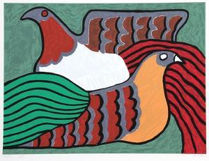Hens by Victor Delfin
