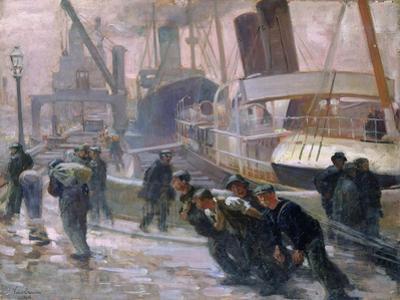 Liverpool Dockers at Dawn, 1903