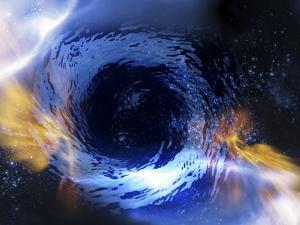 Black Hole, Conceptual Artwork by Victor Habbick