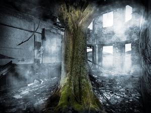 Dystopia, Conceptual Artwork by Victor Habbick