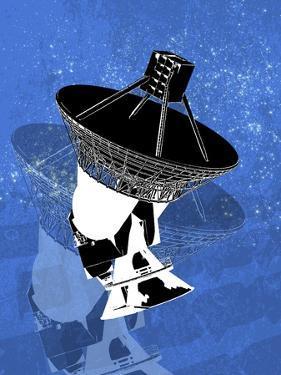 Ground-Based Satellite, Artwork by Victor Habbick