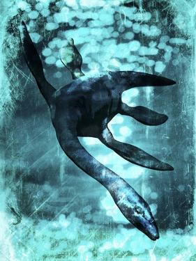 Loch Ness Monster, Artwork by Victor Habbick