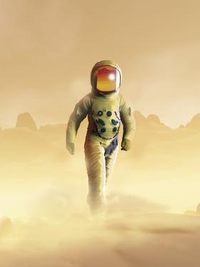 Mars Exploration, Artwork by Victor Habbick