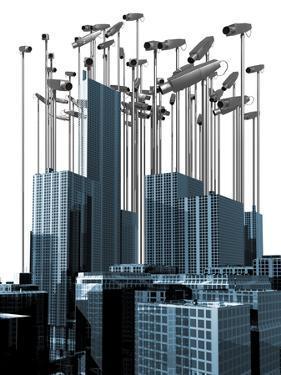 Surveillance, Conceptual Artwork by Victor Habbick