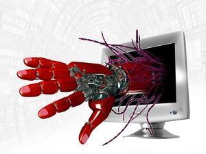 Technophobia, Conceptual Artwork by Victor Habbick