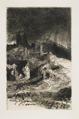 Landscape, 1868 by Victor Hugo